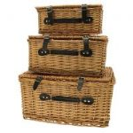 SET 3 HAMPER BASKETS BK2396